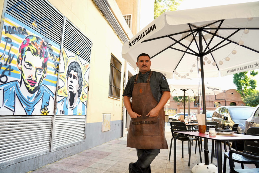 Javier Brichetto, Mural Y Terraza, Piantao