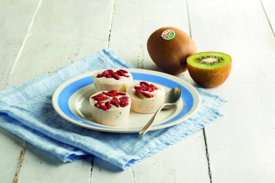 Bocados De Yogur Helado Y Kiwi Zespri™ Green