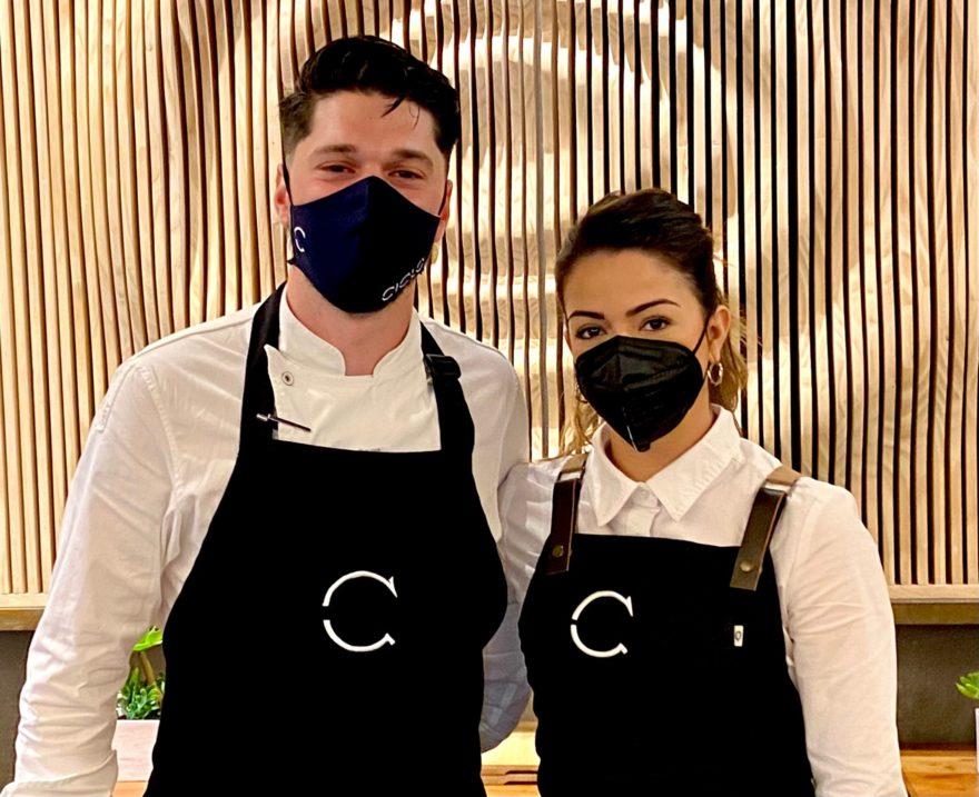 Luiti Callealta Y Rocio Mañna Restaurante Ciclo