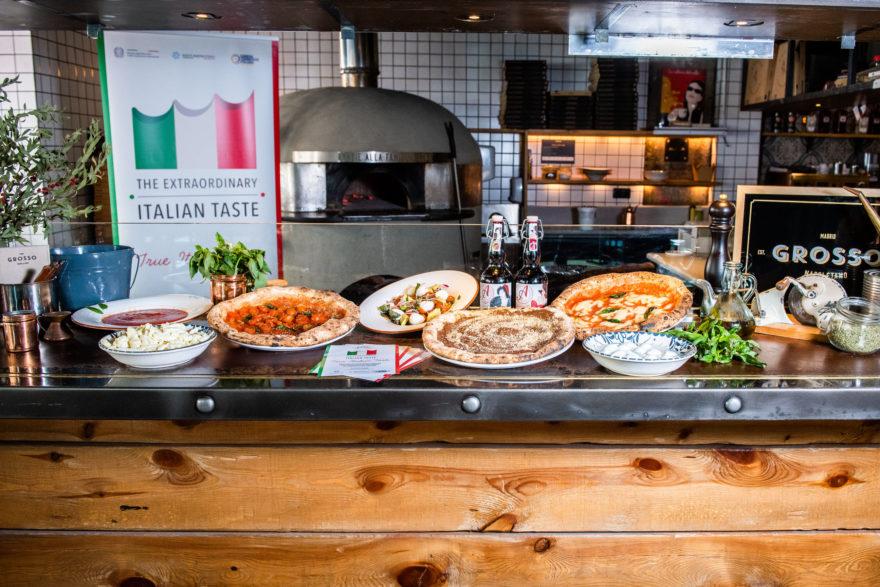Propuesta Gastronómica Grosso Napoletano Y Horno True Italian Taste