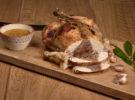Pollo relleno ecológico de la Dehesa El Milagro