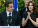 El amor entre Nicolas Sarkozy y Carla Bruni fue fulminante a primera vista