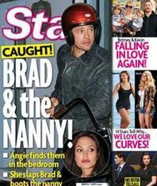 Brad Pitt pillado con la niñera