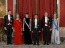 El glamour llega con la cena de gala en honor a Nicolás Sarkozy y Carla Bruni