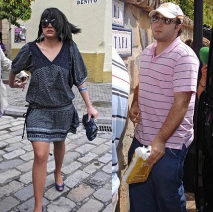 Kiko Rivera (Paquirrín), con Alba, su nueva novia