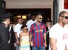 Los famosos no se pierden la final de la Champions: Barça-Manchester en Roma