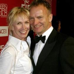 Sting y Trudie