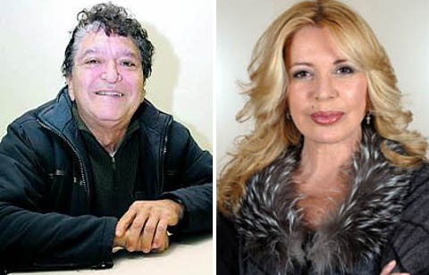 Ángel Cristo y Bárbara Rey