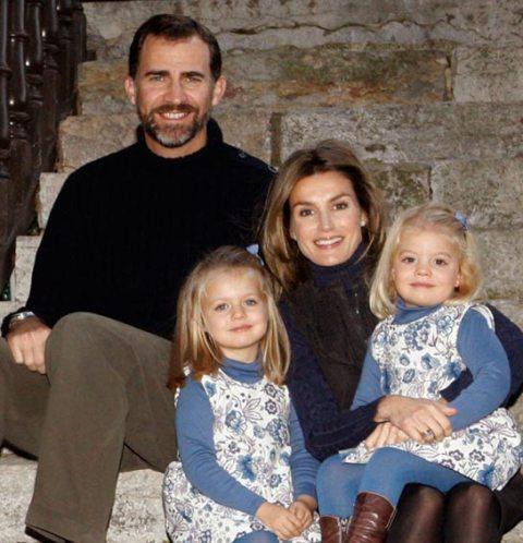 las felicitaciones navideñas de la casa real