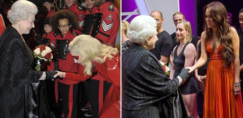 Lady Gaga y Miley Cyrus