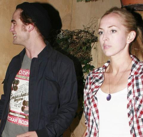 Lizzy Pattinson y Robert Pattinson