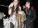 Miley Cyrus visita el Groucho Club, uno de los más salvajes de Londres