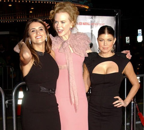Pe, Nicole y Fergie