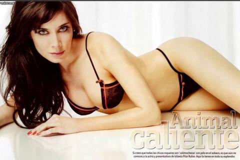 Pilar Rubio, la más sexy de 2009 para Interviú