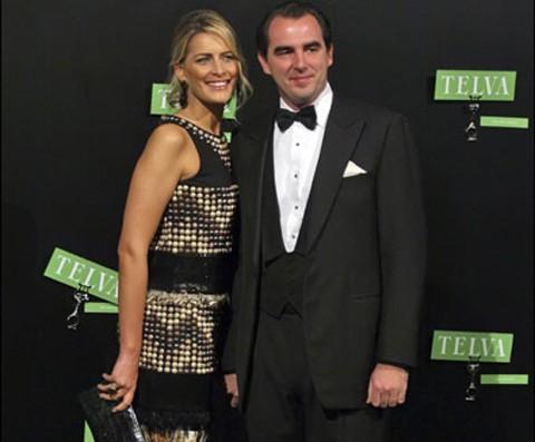 Tatiana Blatnik y Nicolás de Grecia