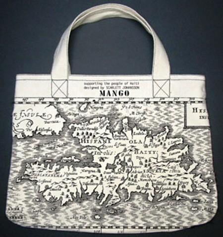 scarlett johansson diseña un bolso para ayudar a haiti