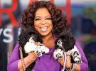 Oprah Winfrey adopta dos perros el día de su cumpleaños