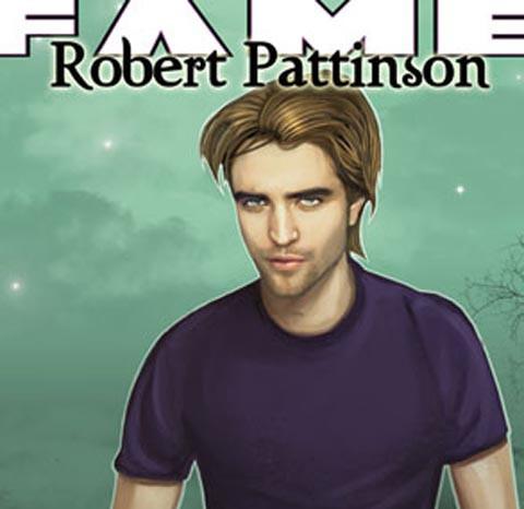 Robert Pattinson en Fame