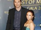 Hayden Panettiere posa feliz con su novio, el boxeador Wladimir Klitschko