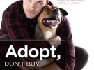 Kellan Lutz y Kola protagonizan la campaña Adopta, no compres de PETA