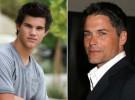 La superbowl une a Taylor Lautner y Rob Lowe