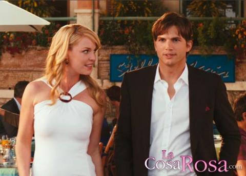 Katherine Heigl y Ashton Kutcher, una bella pareja de cine