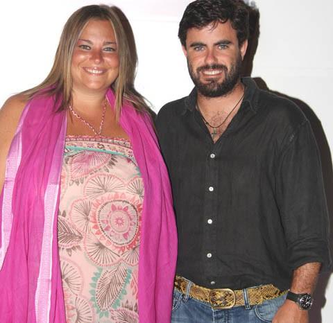 Caritina Goyanes y Antonio Matos