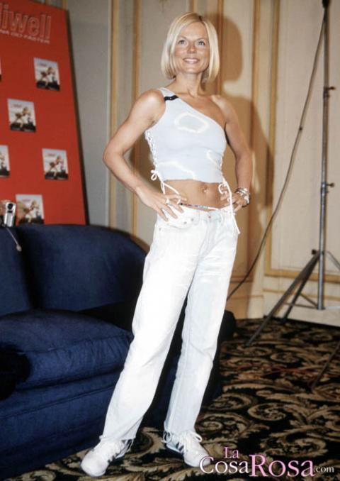 Geri Halliwell en 2001