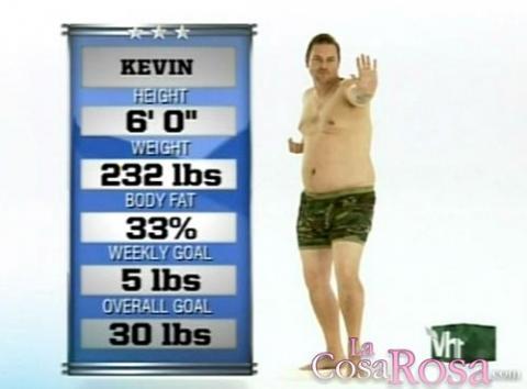 Kevin en el reality