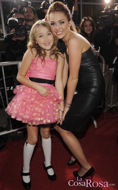 Miley y su hermana, Noah