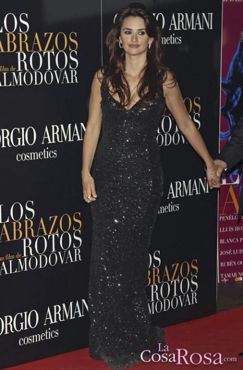 Penélope Cruz en el estreno de Los Abrazos Rotos en Madrid