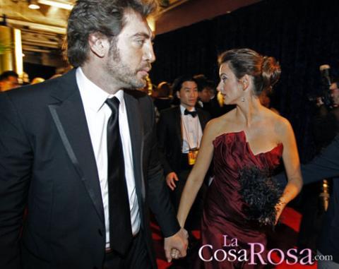 Penélope Cruz y Javier Bardem, juntos en Los Oscar 2010