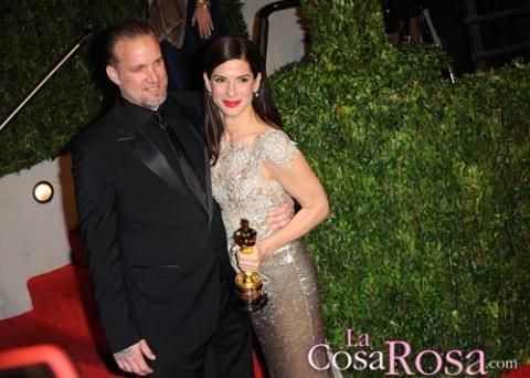 Sandra Bullock y Jesse James