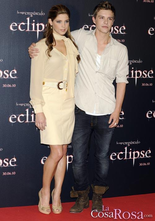 Ashley Greene y Xavier Samuel eclipsan en Madrid