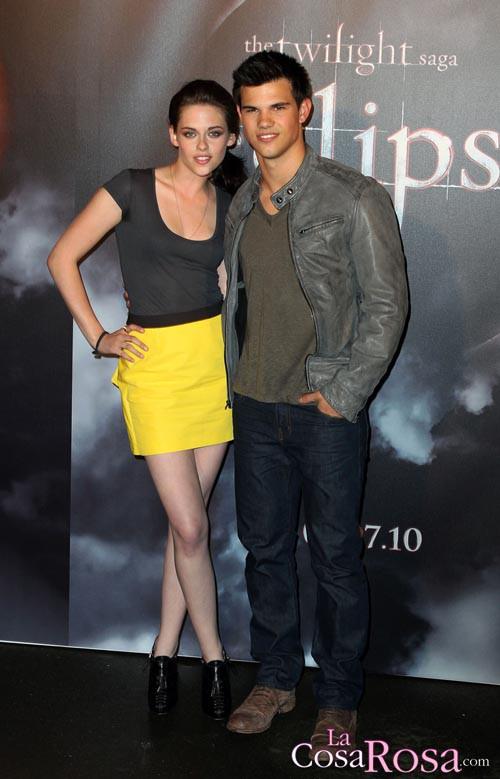 Kristen Stewart y Taylor Lautner en Australia