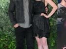 Kristen Stewart opta por el negro en la presentación de Eclipse en Roma