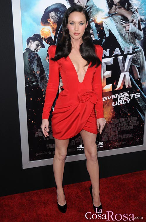 Megan Fox en el estreno de Jonah Hex