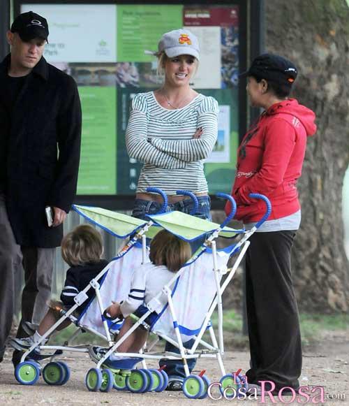 Britney Spears y sus hijos