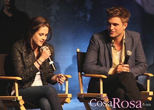 Rober Pattinson y Kristen Stewart