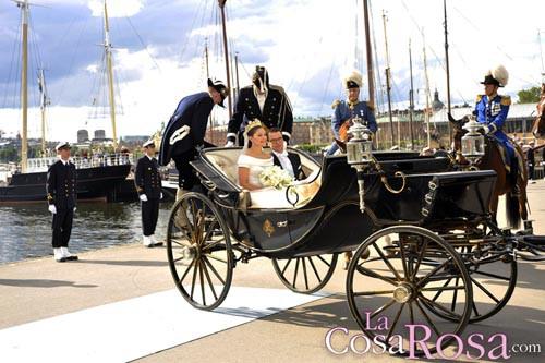 Victoria de Suecia y Daniel Westling