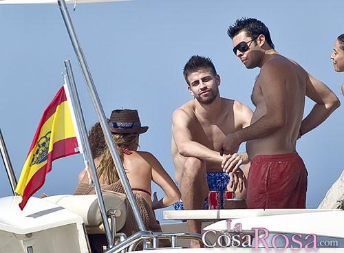 Piqué en Ibiza
