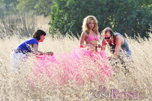 Shakira en Ibiza