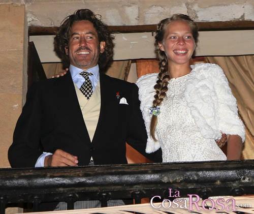 Álvaro Marichalar y Ekaterina Anikieva, recién casados