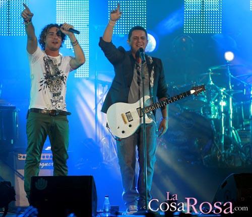 David Bisbal en el concierto de Alejandro Sanz