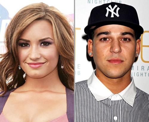 Demi Lovato y Rob Kardashian