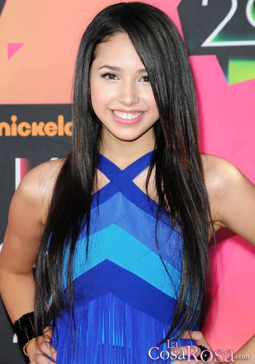 Jasmine Villegas en los Kids´Choice 2010