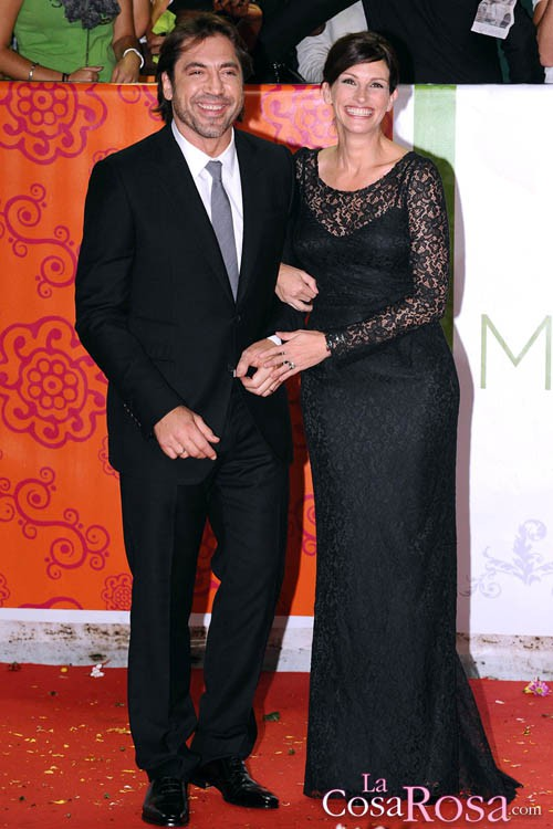 Javier Bardem y Julia Roberts