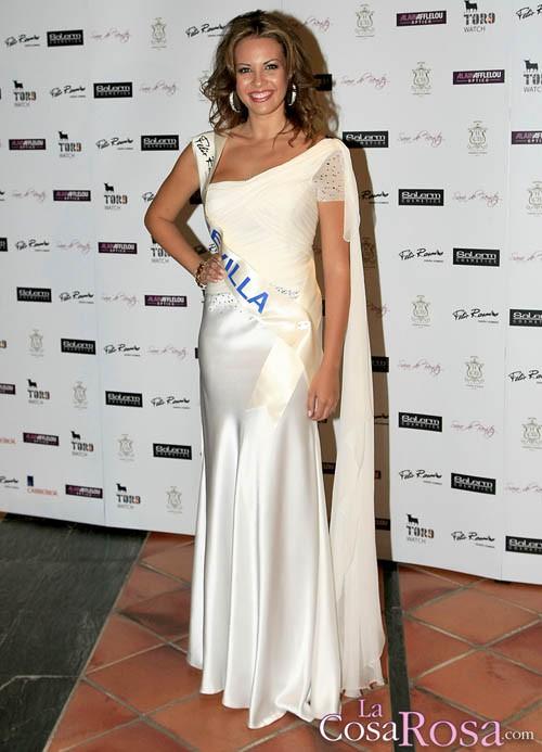 Jessica Bueno, gran favorita para alzarse con el título de Miss España 2010