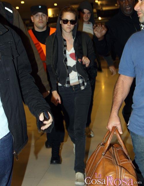 Kristen Stewart llega a Buenos Aires
