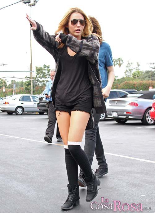 Miley Cyrus en Los Angeles en septiembre